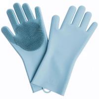 Универсальные перчатки для мытья посуды Xiaomi J&J Silicone Gloves