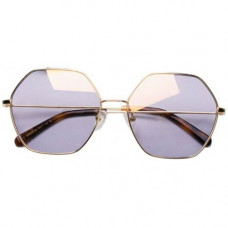 Солнцезащитные Очки TS Sunglasses Six Lines Shape Romb Gold SM086-0340
