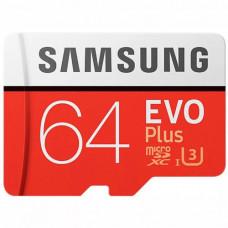 Карта памяти MicroSD Samsung MB-MC64G/CN 64gb 10 Class U3 4K Video