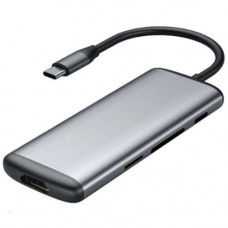 Многопортовый адаптер Xiaomi Mi HAGiBiS Переходник с USB-C на HDMI