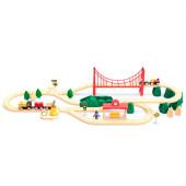Детский конструктор железная дорога Xiaomi Mi Toy Train Set