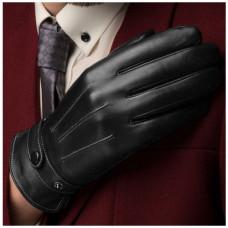 Сенсорные кожаные перчатки мужские Xiaomi Qimian