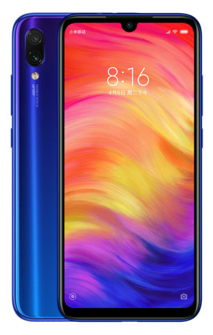 Xiaomi Redmi Note 7 Синий цвет